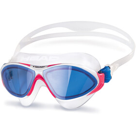 Head Horizon Mask Clear-WhiteMagenta-Blue